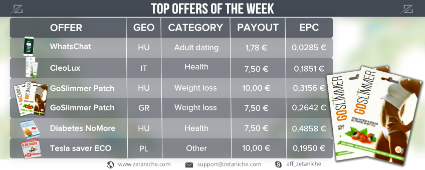 Top Offers of the week! GoSlimmer offer insights