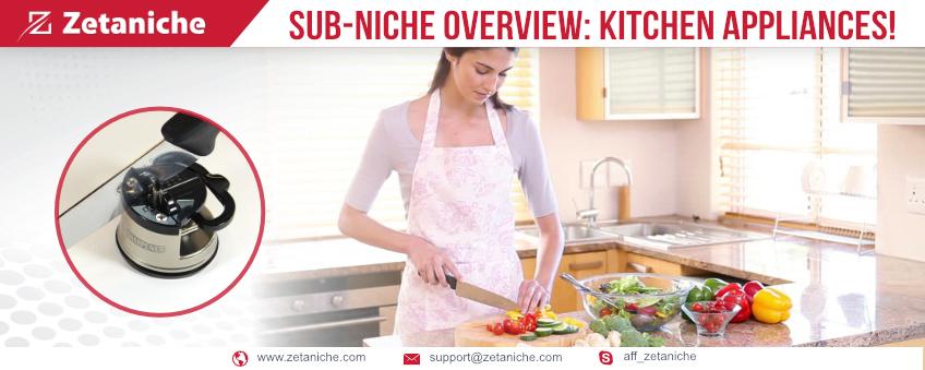 Sub-niche Overview: Kitchen appliances!