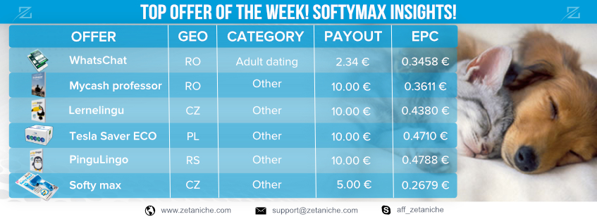 TOP OFFERS OF THE WEEK! SoftyMax insights!