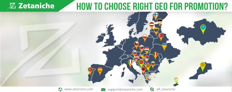 How to choose right GEO for promotion?
