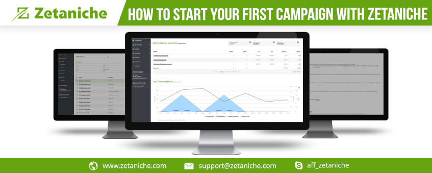 How to start your first campaign with Zetaniche?